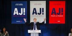 Alain Juppé lors de son dernier meeting à Bordeaux dans le cadre de la primaire