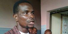 Carbone Beni, un des responsables du collectif Filimbi