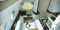 Mini-suite conçue par Airbus Corporate Jet Centre