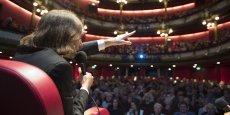 Cédric Villani lors de l'édition 2016 au Théâtre des Célestins Cédric Villani lors de l'édition 2016 au Théâtre des Célestins