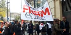 Manifestation ce 24 novembre devant Fram à Toulouse.