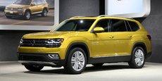 Avec l'Atlas, Volkswagen espère reconquérir le marché automobile américain avec un SUV 7 places plus adapté que le Tiguan à ce marché friand de gros 4X4.