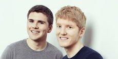 Patrick et John Collison, deux frères même pas trentenaires, d'origine irlandaise, ont fondé Stripe fin 2009. Leur entreprise, installée à San Francisco, emploie plus de 570 personnes.