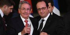 La France regarde toujours Cuba comme un partenaire, a dit.François Hollande.