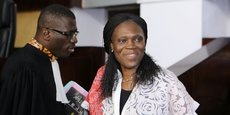 De l'aveu même de Rodrigue Dadje (à guache), un des avocats de Simone Gbagbo, on doit ce retour au prétoire à la médiation du bâtonnier Me Beugre Adou Marcel avec le procureur général Aly Yéo.