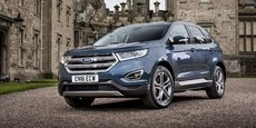 Ford Edge mesure 4,80 de long, soit moins qu'un Q7 mais 18 cm de plus qu'un Q5.