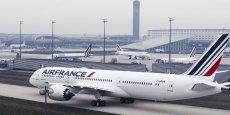 Le premier B787 est entré dans la flotte d'Air France en décembre 2016
