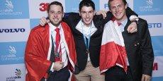 Donné favori dans la discipline Couverture métallique, Youni Le Coutour a remporté la médaille d'or des Euroskills, les championnats d'Europe de l'apprentissage.