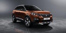 Peugeot espère voir son nouveau SUV remporter le titre très convoité de voiture de l'année.