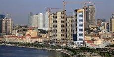 Des immeubles en construction à Luanda, en Angola.