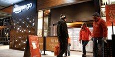Le supermarché connecté d'Amazon est actuellement en phase de test à Seattle - son accès étant réservé à ses employés.