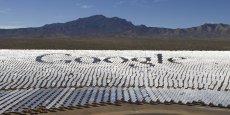 L'une des plus grandes centrale solaire thermodynamique du monde dans le désert californien. Ce projet associe les groupes américains Brightsource, NRG Energy, Bechtel Corporation ainsi que le géant du web Google.