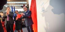 Bernard Cazeneuve a inauguré les nouveaux locaux de Sciences Po.