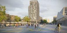 Seura Architecture va construire 197 logements et des commerces sur la place centrale