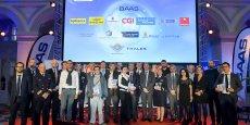 Les Talents de l'aéronautique réunissent chaque année plus de 500 personnes au Palais de la bourse à Bordeaux.