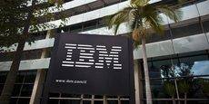 La multinationale IBM table sur la création de 6.000 postes aux Etats-Unis en 2017.