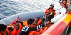 Médecins sans Frontières a déployé trois bateaux en Méditerranée depuis 2015 pour venir en aide aux migrants.