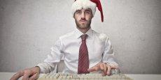 A l'approche de Noël, la productivité des travailleurs décroît de plus en plus vite.