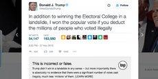 Afin de décortiquer le vrai du faux des déclarations de Donald Trump, le Washington Post a développé un plugin pour les fact-checker.