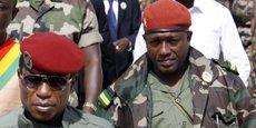 Aboubacar Sidiki Diakité dit Toumba (à droite) est l'homme qui avait tiré sur le chef de la junte, Moussa Dadis Camara. Il est aussi accusé d'être un des donneurs d'ordre du massacre du 28 septembre 2009