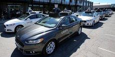 Uber testait ses voitures sans chauffeur en Californie depuis le 14 décembre malgré une requête des autorités californiennes qui ont prévenu que leur présence dans les rues était illégale.