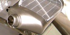Le filtre à particules permet de retenir les particules fines, et est obligatoire sur les motorisations diesels.