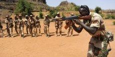 Une session d'exercice de l'armée malienne