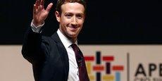Mark Zuckerberg, le patron de Facebook, multiplie ces derniers mois les positions politiques sur tous les sujets, esquissant sa vision de la société et de l'économie.