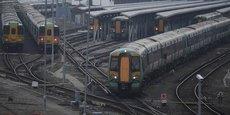 Le trafic était totalement paralysé, le 16 décembre 2016, lors d'une énième grève des conducteurs des trains Southern Rail, détenus à 35% par le français Keolis.