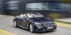 Plus de quatre voitures Mercedes-Benz sur dix vendues dans le monde l'ont été en Europe.