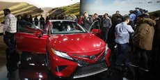 Toyota a notamment présenté sa Camry XSE au salon de Detroit.