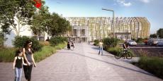 Les travaux d'extension de la galerie commerciale d'Auchan à Bordeaux Lac seront terminés fin 2018.