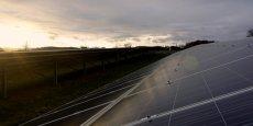 La centrale photovoltaïque de Daumazan (09), développée par Arkolia Energies.