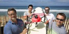 Nous tirerons les conclusions de son efficacité le 22 août prochain. Si c'est un triomphe, on continue. Sinon, on arrête le processus, a déclaré Fabien Fargue, l'un des inventeurs du drone Helper, au Figaro.