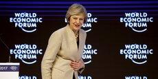 Theresa May a prononcé une allocution très attendue à Davos, le 19 janvier.