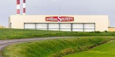 L'Usine William Saurin à Pouilly-sur-Serre