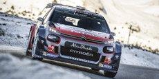 La nouvelle C3 a servi aux pilotes de l'écurie Citroën Racing pour la première étape du championnat des rallyes.