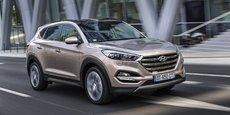 Le Tucson a réalisé pratiquement la moitié des ventes de Hyundai en 2016.