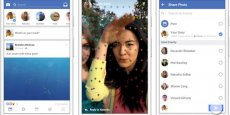 Avec 1,8 milliard d'usagers actifs par mois, Facebook pourrait encore étendre  sa domination avec le lancement des stories.