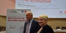 La feuille de route silver économie de la Nouvelle-Aquitaine a été lancée à l'occasion du déplacement en Gironde de la secrétaire d'Etat Pascale Boistard.