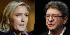 Marine Le Pen a évoqué les réformes de Nicolas Sarkozy et François Hollande tandis que Jean-Luc Mélenchon a mis en avant le travail et des facteurs liés à l'environnement pour expliquer la baisse de l'espérance de vie.