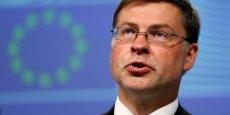 Pour le vice-président de la Commission européenne Valdis Dombrovskis, mutualisation et réduction des risques doivent aller de pair.