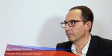 Jean-Philippe Romero, président de la Compagnie fiduciaire