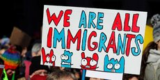 Une manifestation à Philadelphie, le 4 février 2017, contre l'adoption du décret anti-immigration de Donald Trump.