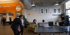 Les startups de Big Booster lors de leur déplacement à Boston, en février.