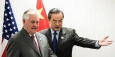 Le secrétaire Tillerson et le conseiller d'Etat Yang ont affirmé l'importance d'une relation bilatérale constructive (...), déclare le département d'Etat.