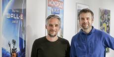 David Dedeine et Sébastian Wloch, co-dirigeants d'Asobo Studio