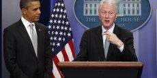 L'ancien président de la République Bill Clinton a soutenu le refus de Barack Obama de négocier sur les coupes dans les dépenses que ses adversaires républicains veulent le voir appliquer, dans le cadre du vote du budget