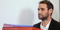 Vincent Escudé dirige la société Prof en poche.