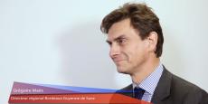 Grégoire Maës, directeur régional Bordeaux Guyenne de Suez
